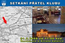 SETK�N� P��TEL KLUBU - 21.3.2009 - kliknut�m na fotku zobraz�te �l�nek