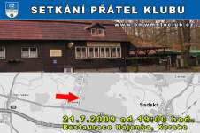 SETK�N� P��TEL KLUBU - 21.7.2009 - kliknut�m na fotku zobraz�te �l�nek