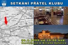 SETK�N� P��TEL KLUBU - 30.9.2009 - kliknut�m na fotku zobraz�te �l�nek