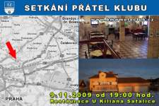 SETK�N� P��TEL KLUBU - 9.11.2009 - kliknut�m na fotku zobraz�te �l�nek