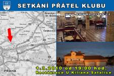 SETK�N� P��TEL KLUBU - 1.3.2010 - kliknut�m na fotku zobraz�te �l�nek
