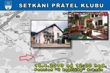 SETK�N� P��TEL KLUBU - 18.4.2010 - kliknut�m na fotku zobraz�te �l�nek
