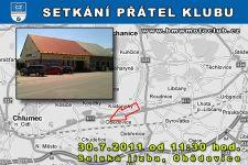 SETKÁNÍ ČLENŮ A PŘÁTEL KLUBU - 30.7.2011 - kliknutím na fotku zobrazíte článek