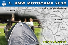 1. BMW MOTOCAMP 2012 - kliknutím na fotku zobrazíte článek
