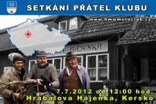 SETKÁNÍ ČLENŮ A PŘÁTEL KLUBU - 7.7.2012 - kliknutím na fotku zobrazíte článek