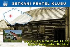 SETKÁNÍ ČLENŮ A PŘÁTEL KLUBU - 23.9.2012 - kliknutím na fotku zobrazíte článek