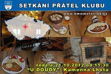 SETKÁNÍ ČLENŮ A PŘÁTEL KLUBU - 21.10.2012 - kliknutím na fotku zobrazíte článek