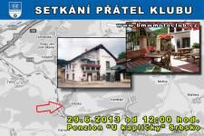 SETKÁNÍ ČLENŮ A PŘÁTEL KLUBU - 29.6.2013 - kliknutím na fotku zobrazíte článek