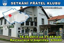 SETKÁNÍ ČLENŮ A PŘÁTEL KLUBU - 19.10.2013 - kliknutím na fotku zobrazíte článek