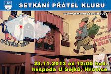 SETK�N� �LEN� A P��TEL KLUBU - 23.11.2013 - kliknut�m na fotku zobraz�te �l�nek