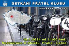 SETKÁNÍ ČLENŮ A PŘÁTEL KLUBU - 18.1.2014 - kliknutím na fotku zobrazíte článek