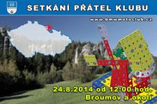 SETKÁNÍ ČLENŮ A PŘÁTEL KLUBU - 24.8.2014 - kliknutím na fotku zobrazíte článek