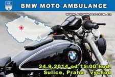BMW MOTO AMBULANCE - 24.9.2014 - kliknutím na fotku zobrazíte článek