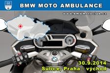 BMW MOTO AMBULANCE - 30.9.2014 - kliknut�m na fotku zobraz�te �l�nek