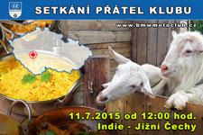 SETKÁNÍ ČLENŮ A PŘÁTEL KLUBU - 11.7.2015 - kliknutím na fotku zobrazíte článek