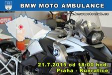BMW MOTO AMBULANCE - 21.7.2015 - kliknutím na fotku zobrazíte článek