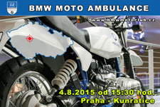 BMW MOTO AMBULANCE - 4.8.2015 - kliknutím na fotku zobrazíte článek