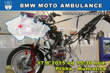 BMW MOTO AMBULANCE - 17.8.2015 - kliknutím na fotku zobrazíte článek