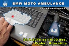 BMW MOTO AMBULANCE - 24.9.2015 - kliknutím na fotku zobrazíte článek