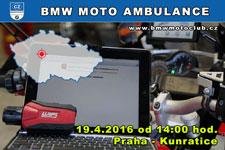 BMW MOTO AMBULANCE - 19.4.2016 - kliknutím na fotku zobrazíte článek