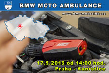 BMW MOTO AMBULANCE - 17.5.2016 - kliknutím na fotku zobrazíte článek