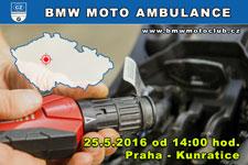 BMW MOTO AMBULANCE - 25.5.2016 - kliknutím na fotku zobrazíte článek