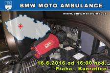 BMW MOTO AMBULANCE - 16.6.2016 - kliknutím na fotku zobrazíte článek
