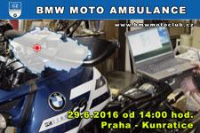 BMW MOTO AMBULANCE - 29.6.2016 - kliknutím na fotku zobrazíte článek