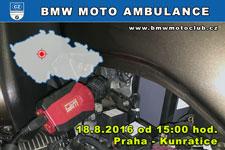 BMW MOTO AMBULANCE - 18.8.2016 - kliknutím na fotku zobrazíte článek