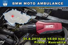 BMW MOTO AMBULANCE - 31.8.2016 - kliknutím na fotku zobrazíte článek