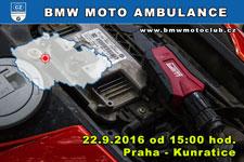 BMW MOTO AMBULANCE - 22.9.2016 - kliknutím na fotku zobrazíte článek