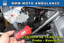BMW MOTO AMBULANCE - 4.10.2016 - kliknutím na fotku zobrazíte článek