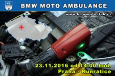 BMW MOTO AMBULANCE - 23.11.2016 - kliknutím na fotku zobrazíte článek