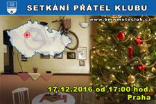 SETKÁNÍ ČLENŮ A PŘÁTEL KLUBU - 17.12.2016 - kliknutím na fotku zobrazíte článek