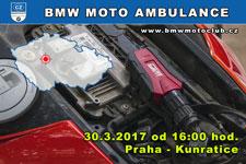 BMW MOTO AMBULANCE - 30.3.2017 - kliknutím na fotku zobrazíte článek