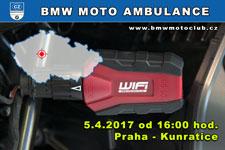BMW MOTO AMBULANCE - 5.4.2017 - kliknutím na fotku zobrazíte článek