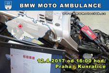 BMW MOTO AMBULANCE - 12.4.2017 - kliknutím na fotku zobrazíte článek