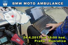 BMW MOTO AMBULANCE - 24.4.2017 - kliknutím na fotku zobrazíte článek