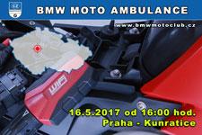 BMW MOTO AMBULANCE - 16.5.2017 - kliknutím na fotku zobrazíte článek