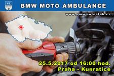 BMW MOTO AMBULANCE - 25.5.2017 - kliknutím na fotku zobrazíte článek