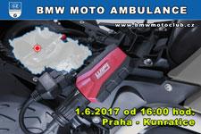 BMW MOTO AMBULANCE - 1.6.2017 - kliknutím na fotku zobrazíte článek