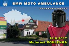 BMW MOTO AMBULANCE - 14.6.2017 - kliknutím na fotku zobrazíte článek