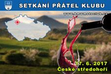 SETKÁNÍ ČLENŮ A PŘÁTEL KLUBU - 17.6.2017 - kliknutím na fotku zobrazíte článek