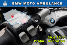 BMW MOTO AMBULANCE - 29.6.2017 - kliknutím na fotku zobrazíte článek