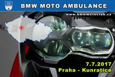 BMW MOTO AMBULANCE - 7.7.2017 - kliknutím na fotku zobrazíte článek