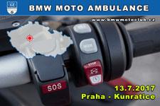 BMW MOTO AMBULANCE - 13.7.2017 - kliknutím na fotku zobrazíte článek