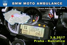 BMW MOTO AMBULANCE - 3.8.2017 - kliknutím na fotku zobrazíte článek