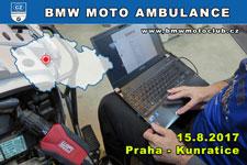 BMW MOTO AMBULANCE - 15.8.2017 - kliknutím na fotku zobrazíte článek