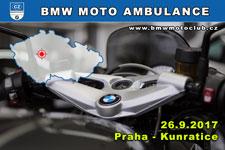 BMW MOTO AMBULANCE - 26.9.2017 - kliknutím na fotku zobrazíte článek