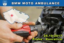 BMW MOTO AMBULANCE - 24.10.2017 - kliknutím na fotku zobrazíte článek